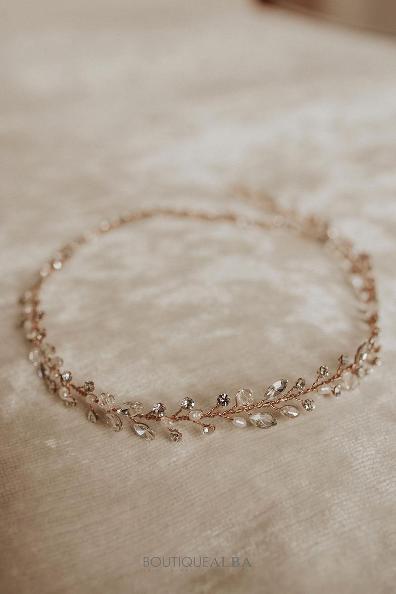 Coroncina-sposa-oro-rosa-con-perle-e-strass-boutique-alba-cerchietto-1